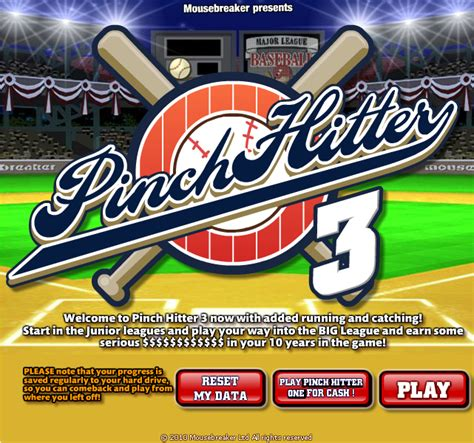 Pinch Hitters by Pinch Hitter 3 Unblocked 66