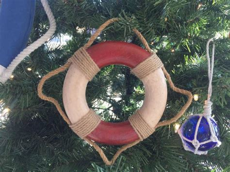 oak island christmas ornament buy antique and white decorative lifering ornament 6 inch