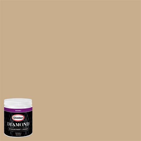 glidden 8 oz hdgo64 satin gold eggshell interior paint with primer tester hdgo64d 08en