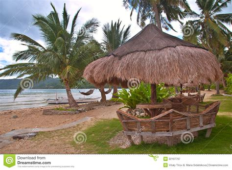 Tropical Hut Tropical Hut Royalty Free Stock Photography Image