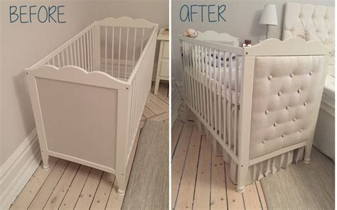 ikea baby bed diy headboard for ikea hensvik crib ikea hackers ikea hackers