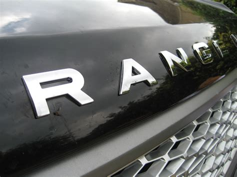 chrome range rover chrome bonnet tailgate lettering for range rover classic