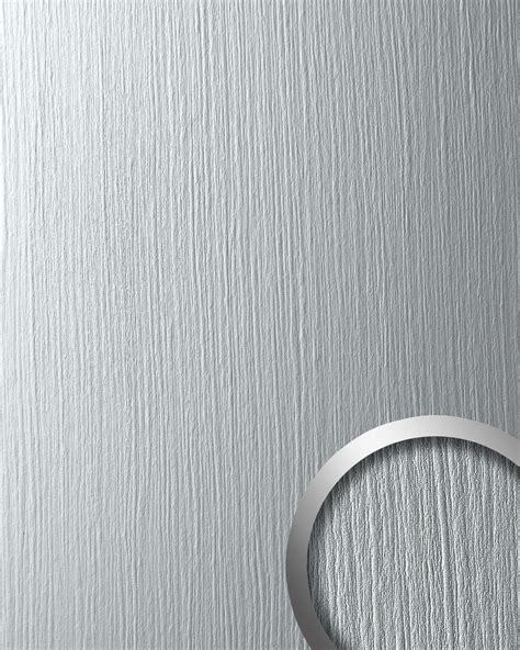 wandverkleidung metall wallface 12447 deco silver wandpaneel metall dekor
