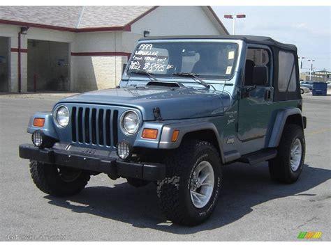 gunmetal jeep 1999 gunmetal pearlcoat jeep wrangler sport 4x4 8113127