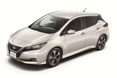 New Nissan 2018 Leaf by New Nissan Leaf 2018 Pearl White Autobics