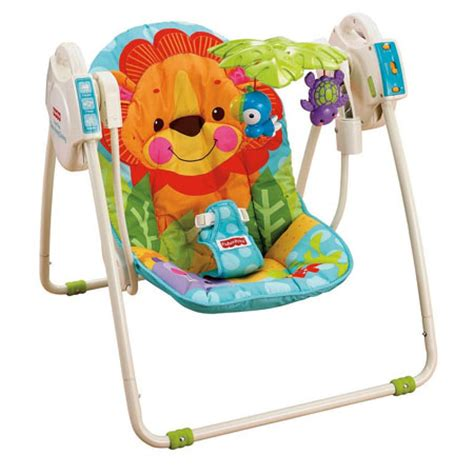 portable swing blue sky portable baby swing can provide comfort and