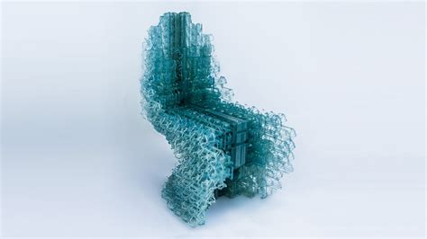 3d Printed Mini Designer Chair Designers At Ucl 3d Print Voxel Chair From Single Strand Of Plastic 3d Printing