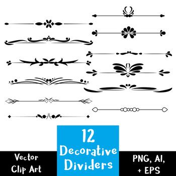 free decorative text borders decorative borders vector png review home decor