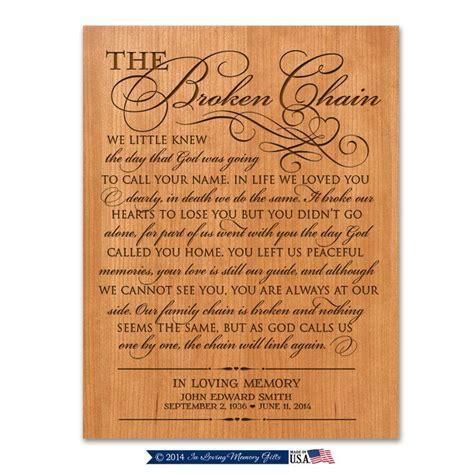 The Broken Chain Prayer Wall plaque Personalized Broken