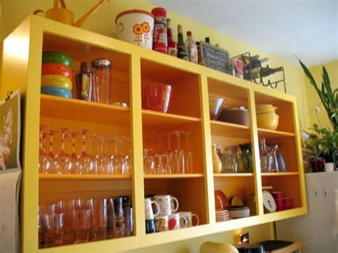 open shelf kitchen cabinets look even more open kitchen shelves from readers