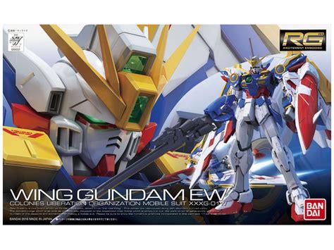 Rg Gundam Wing Ew Bandai 1 144 rg wing gundam ew by bandai hobbylink japan