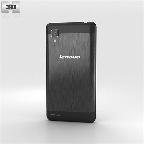 Lenovo P780 lenovo p780 black 3d model hum3d
