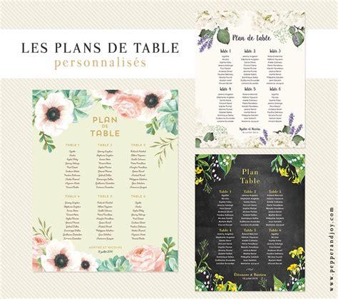 plan de table en les plans de table de mariage personnalis 233 s et imprim 233 s