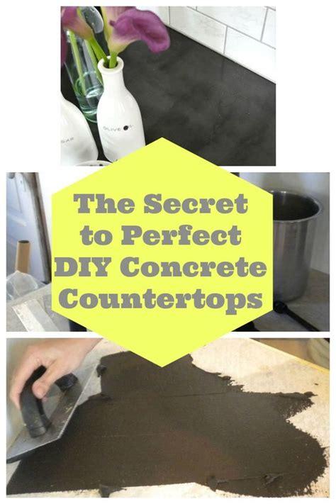 easy diy concrete counters  missing link diy