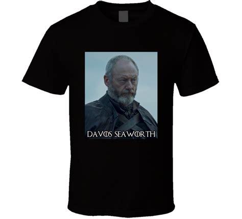 Davos Shirt davos seaworth of thrones character t shirt