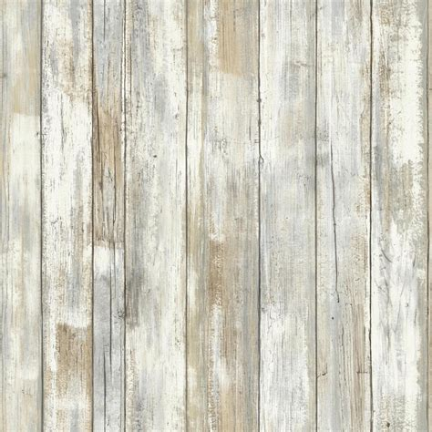 stick on wood wall roommates 28 18 sq ft distressed wood peel and stick wall decor rmk9050wp the home depot
