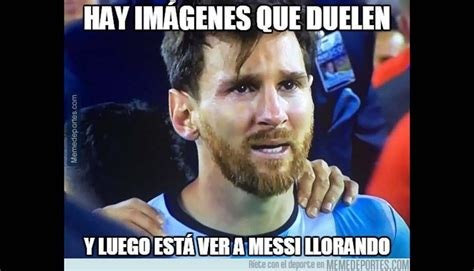 Los Memes De Messi - lionel messi pierde final de copa am 233 rica y es blanco de