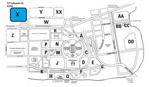 Parking For Jaguars Look At The Parking Lot Highlighted In Blue