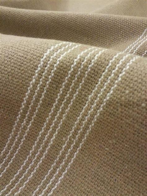 grain sack upholstery fabric grain sack fabric farmhouse tan fabric cream 9 stripe