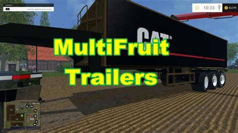 maps to the trailer cat semi trailer multifruit farming simulator 2017 mods farming simulator 2015 mods fs 2015