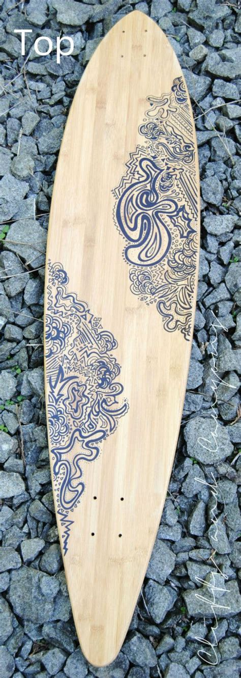 Custom Doodle custom longboard the doodle by cliffsandcanyons on