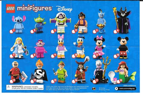 animated disney figures the minifigure collector lego minifigures disney series