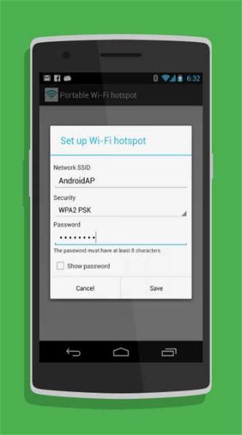 portable wi fi hotspot android app   androidfry