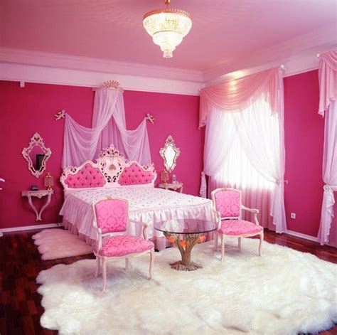 pink room decor pink bedroom with glass table room decor and design