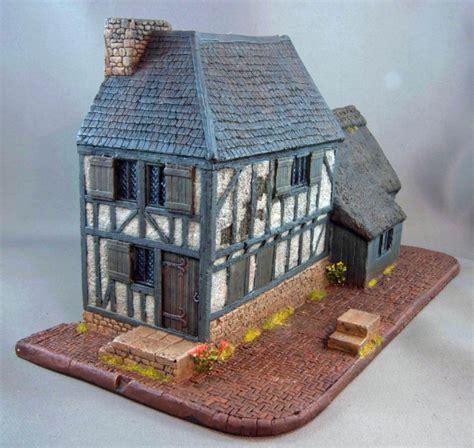 Building House Games hudson amp allen studio 25mm scale model late medieval