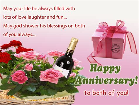 Wedding Anniversary Cards For And Bhabhi by Anniversary Greeting Card Wishing Anniversary To
