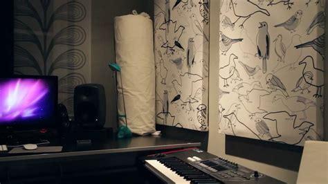 rockwool acoustic panels youtube