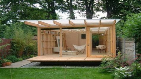 sheds and playhouses tiny green cabins garden sheds designs ideas outdoor living designs garden