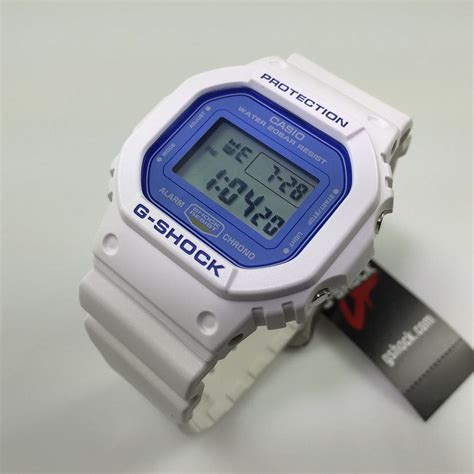 casio g shock white digital sports dw5600wb 7
