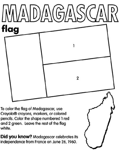 Madagascar Island Coloring Page | madagascar crayola com au