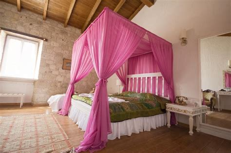 pink bed canopy canopies pink canopy bed