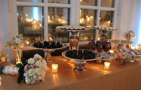 wedding trend dessert displays pink lotus