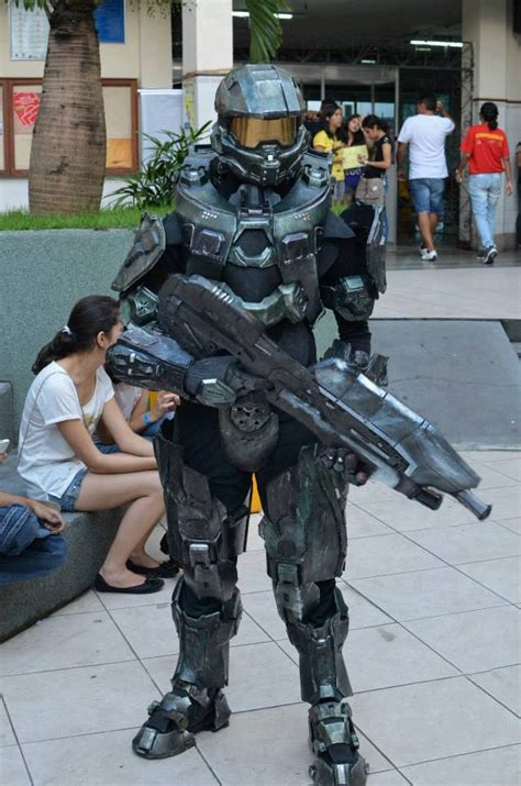 master chief cosplay 2 by namelessprops on deviantart