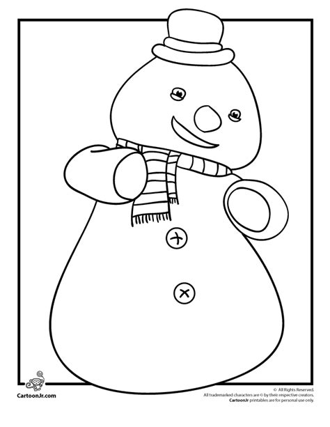 snowman coloring page pdf chilly the snowman doc mcstuffins coloring page cartoon