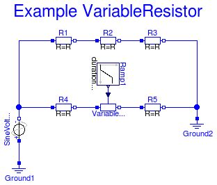 what is an exle of a resistor modelica electrical analog exles