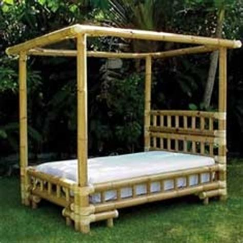 bamboo canopy bed pinterest