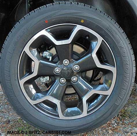 subaru crosstrek wheels 2014 subaru crosstrek research webpage premium