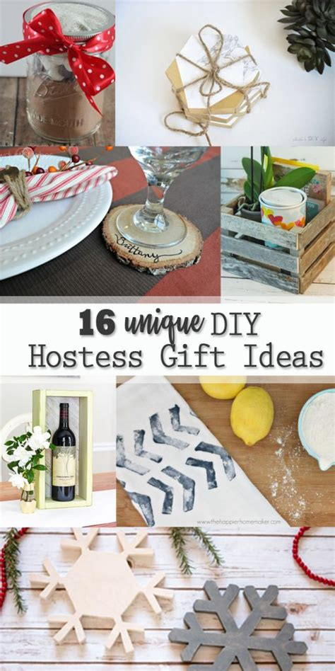 host gift ideas 16 unique diy hostess gift ideas pretty handy