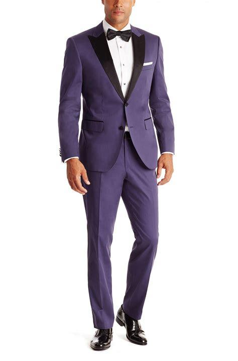 light purple tuxedos 2015 purple grooms tuxedos black satin peaked lapel