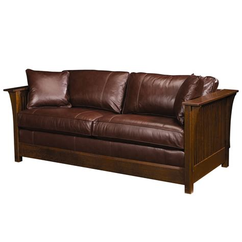 leather couch sleeper sofa cool wooden sofa innovative home design