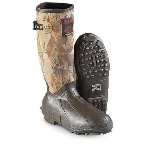 Insulated Rubber Boots by Guide Gear S 15 Quot Insulated Rubber Boots 1 200 Grams