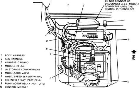 repair anti lock braking 2003 chevrolet corvette navigation system repair guides anti lock brake system modulator valve autozone com