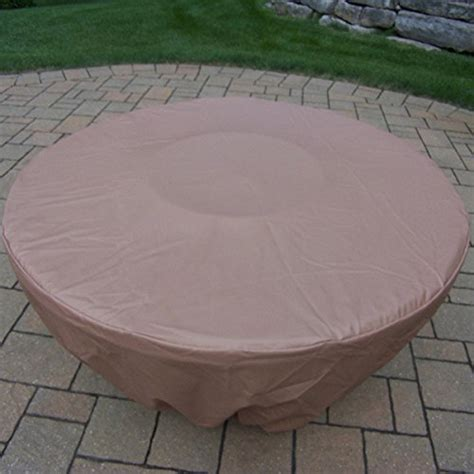 Fabric Weather Cover For 48 Inch Round And 43 Inch Octagon 48 Inch Pit