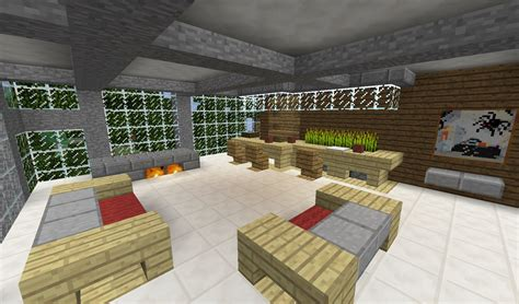 awesome minecraft minecraft modern living room ideas