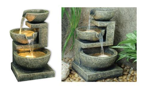 15 self contained water features solar powered fountains