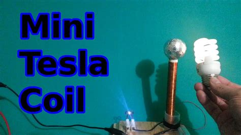 How To Make A Tesla Coil How To Make A Mini Tesla Coil